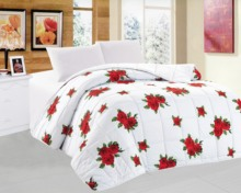lowest price printed quilted comforter with CE certificates