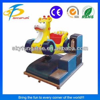 Guangzhou Monedas Ciervos Carro Electronica Maquina De Juegos Para