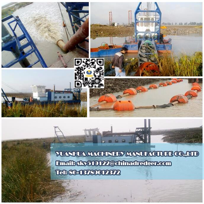 sand pumping dredger