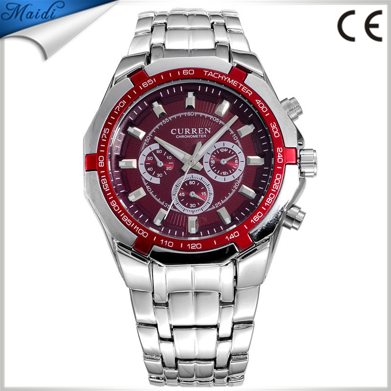 TOP SELL! CURREN Brand Men Sports Watches Men Wrist Watches Casual Full Steel Men Watch Waterproof Reloj BW-26