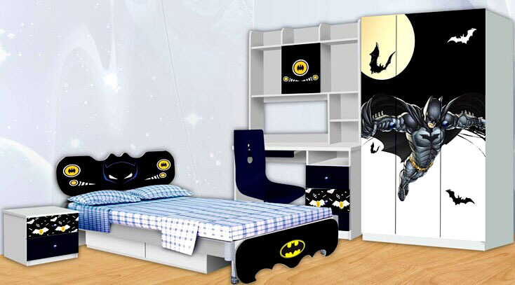 Hot-sale Spiderman Batman Kids Furniture Kids Bedroom Furniture ...