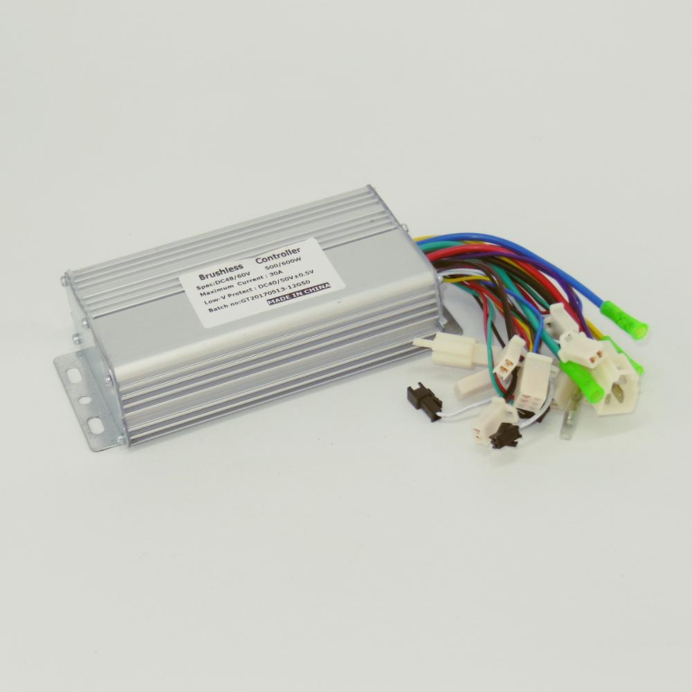 Wholesale Electric Bike Motor Controller Online Buy Best Gt Control Circuits A Dc Pwm Speed Circuit Sensor Sensorless 60 120degree Universal Model 48v 500w 600w 30a Brushless