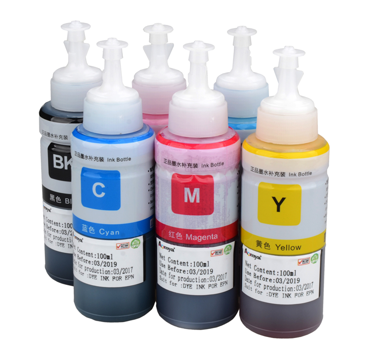 Refill uv dye ink 664 for Epson L series desktop printer