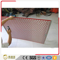 Oil Vibrating Sieving Mesh / Brandt Shale Shaker Screen