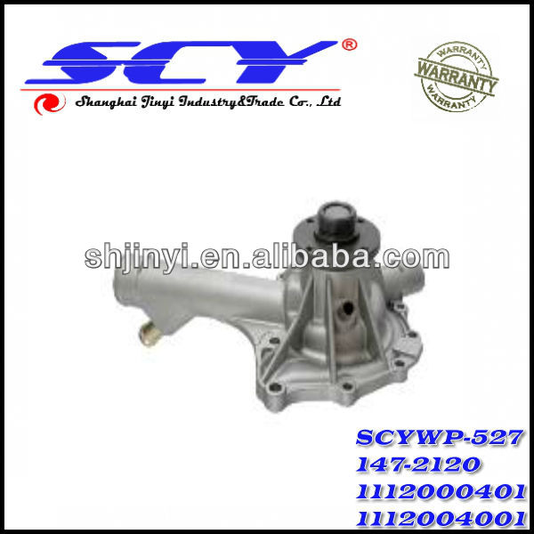 Auto Water Pump For MERCEDES-BENZ 1112000401 1112004001 1112010401 GRAF:PA582