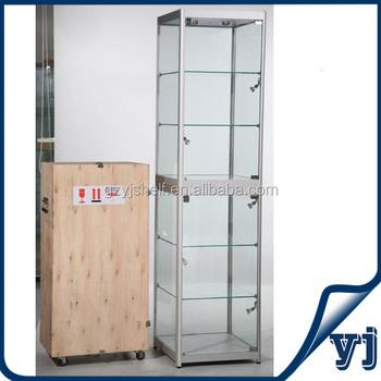 Wholesale Cheap Classical Jewelry Glass Display Showcases/aluminium ...