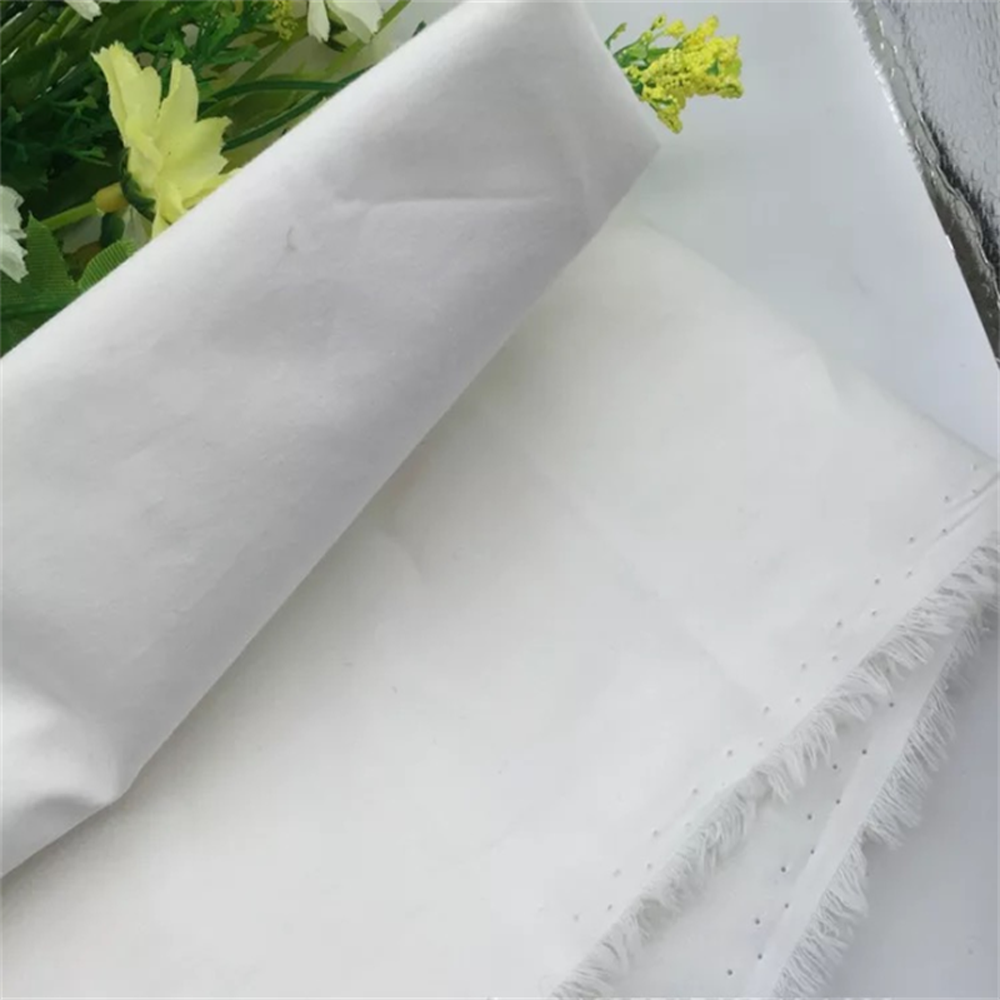 Alibaba Stock Textile 100% Cotton White Poplin Shirting Cloth Fabric Roll