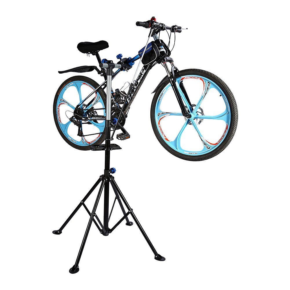 e55f374244b Get Quotations · Big Bicycle Maintenance Repair Stand Bike Cycle Workshop  with Free Locking Strap