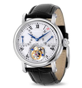 new arrival stainless steel ST8004 movement mechanical flying tourbillon watches