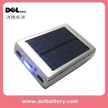 Solar power bank charger 10000mah for iPhone , iPad ,tablet pc , smartphones