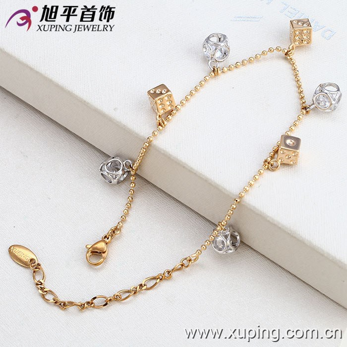 73416 Wholesale Vogue Fake Gold Plated Jewellery Women Bracelets