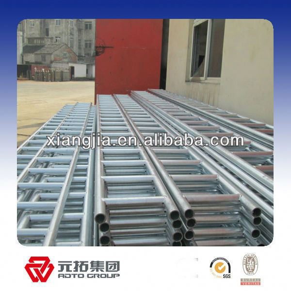 pre-galvanized heavy truss for cuplock step ladder scaffolding building construction