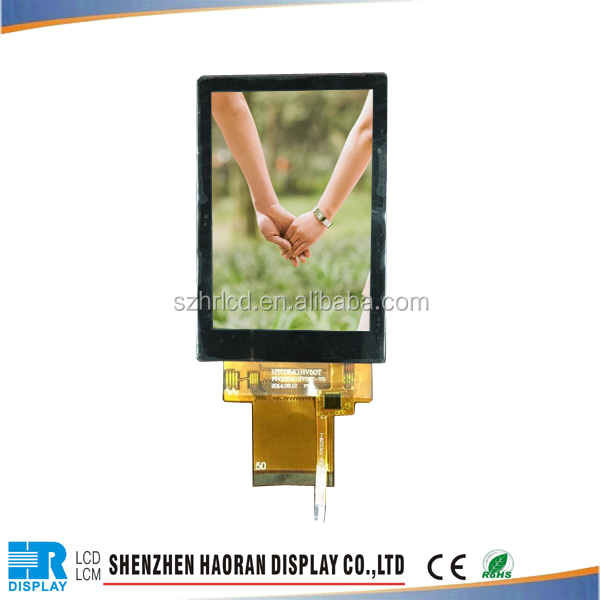 [Stock Product] touch screen 3.5 inch smart tft lcd module as industrial display