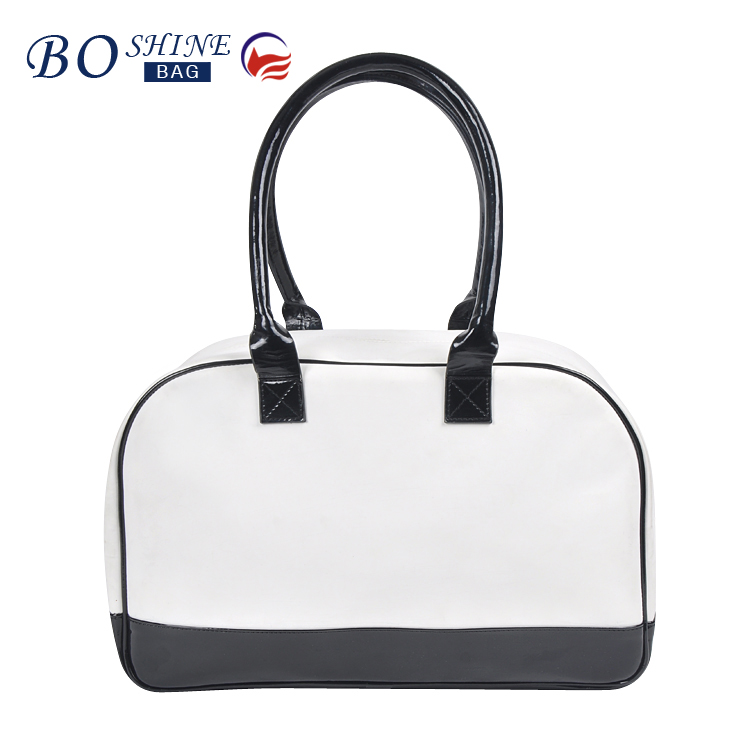 Dongguan PU Factory BSCI Fashionable Waterproof Promotional Lady Luggage Bag