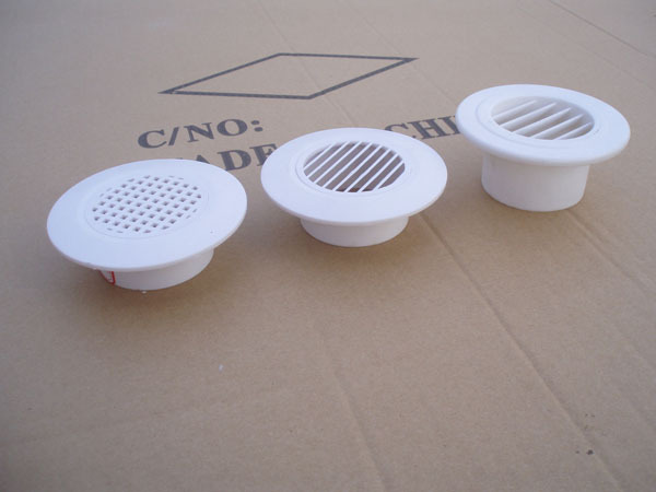 Customized plastic round ventilation grille