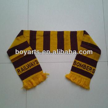 custom football team scarf buy football team scarf