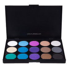 15 Kleuren Eyeprivate Label Make Up Cosmetica Geen Merk Groothandel Make Pressed Glitter Oogschaduw