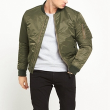 Jackets Men 2017 Custom Flight Jacket Blank MA1 Bomber Jacket