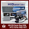 2014 New Arrival 55W AC 9004 9007 H13 H4 HID Bi xenon High And Low Conversion Headlight Kit 3000K 4300K 6000K 8000K 12000K