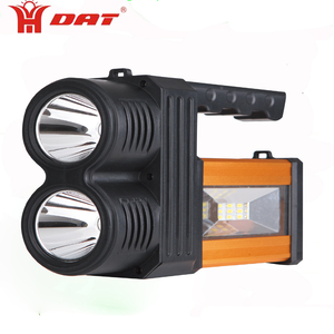 remote led torch high power searchlight AT-298 with rechargeable battery