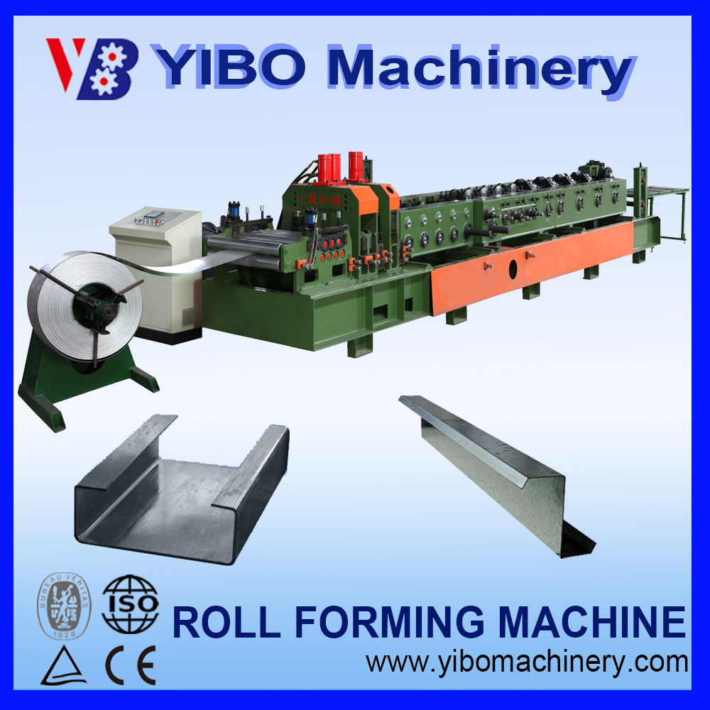 China Steel Frame Device C Z Channel Shape interchangeable Purling Roll Forming Machine