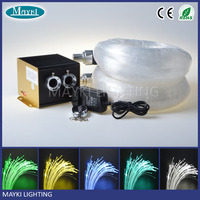 2016 NEW fiber optic light with RGBW LED+ twinkle wheel light engine and flexible fibre