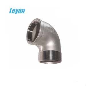 SS 304 male female threaded elbow stainless steel pipe elbow BSP thread ss 90degree elbow