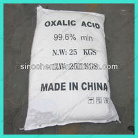CAS 6153-56-6 99.6%min White Powder Oxalic Acid Anhydrous In Metallurgy Industry