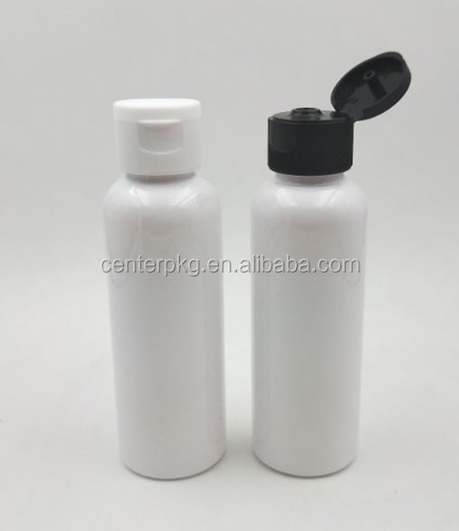 100ML empty pet plastic bottle with filp top cap bottle cap for hand sanitizer use