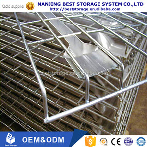 Selective pallet rack galvanized welded wire mesh decking panel