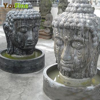 Garten Buddha Kopfbrunnen Stein Brunnen Im Freien