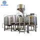 3HL 5HL 10HL 20HL semi-auto control beer brewing system small pubs with good quality