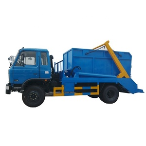 Swing arm garbage truck,swept-body refuse collector