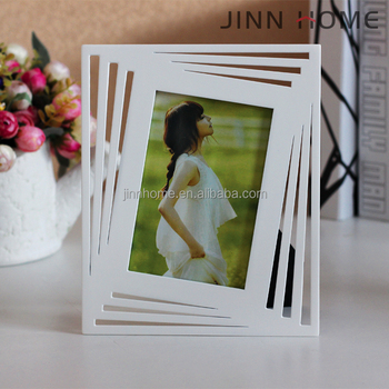 Romantic Diamond Style Cute Girl Personal Album Wedding Painting Wooden  Photo Frame - Buy Simple Style Cute Gril Printing Paper Mdf Photos