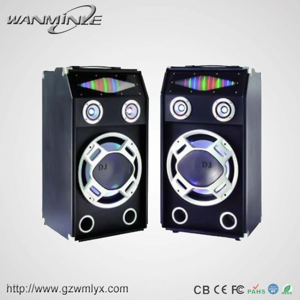Top Grade Home Theater Dj Speaker With Marquee Light For Disco Show
