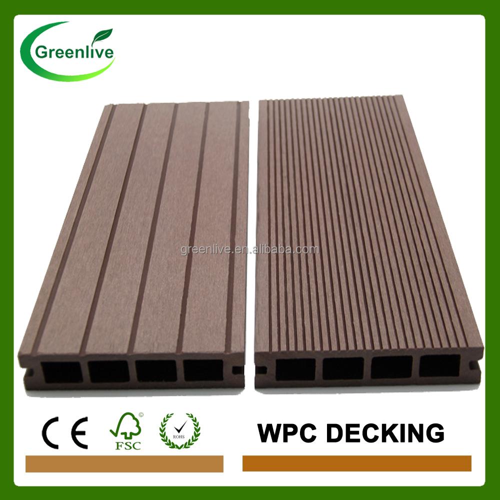 Tipo ingeniero madera pl stico compuesto wpc terrazas - Tipo de madera para exterior ...