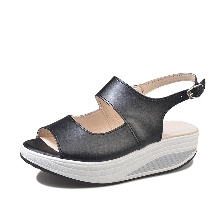 11e3ce17b53 Get Quotations · DENER Women Ladies Wedge Sandals