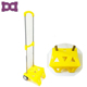 kids overnight school bags with trolley telescopic tension bar