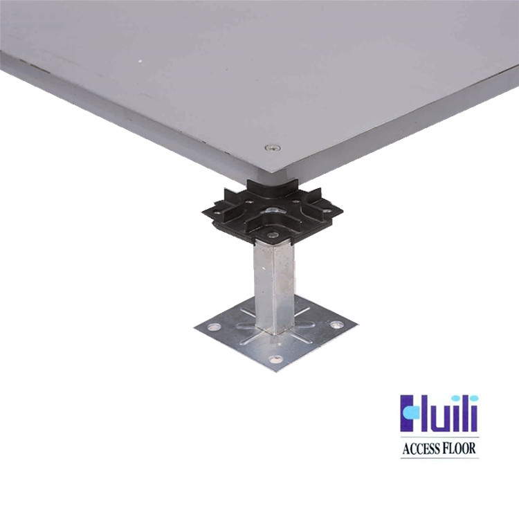 Flexible installation Less weight OA-600 Cementitious infill Steel Raised Floor
