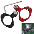 For Gopro Mount CNC Aluminium Bike Motorcycle Handlebar Roll Bar Mount Holder For GoPro Hero 4