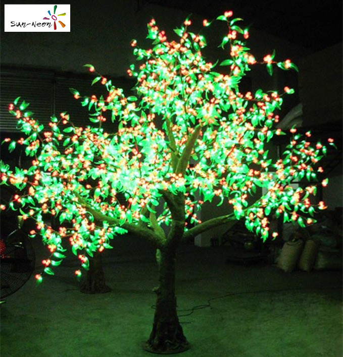 Cherry tree with cherry fancy led lighted cherry trees new product cherry fruit for sale artificial fruit trees