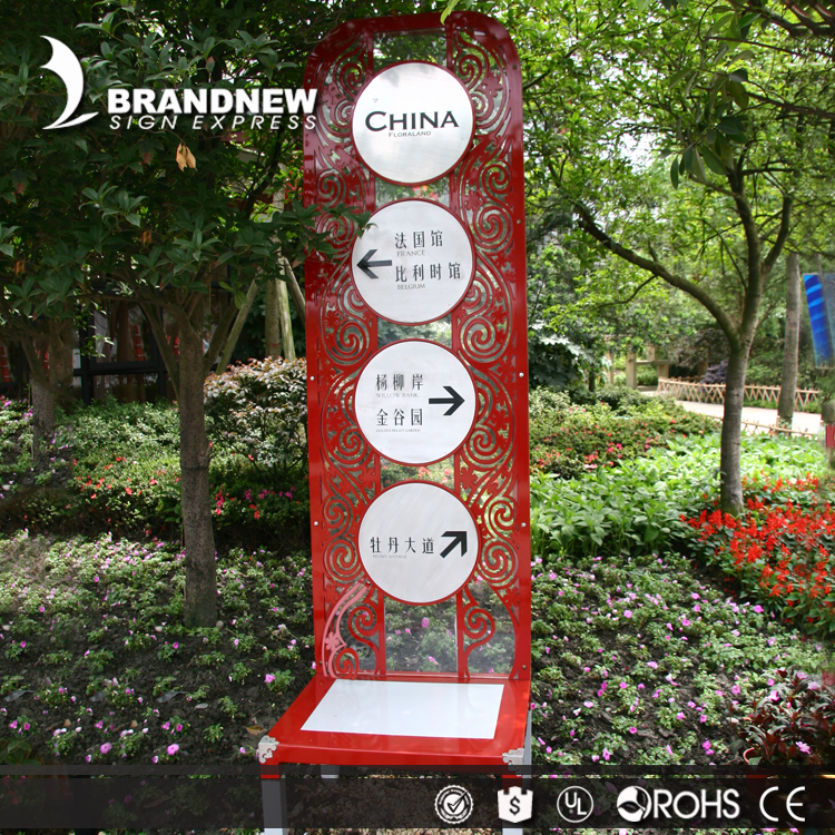 Wayfinding external and internal diy led illuminated letter sign with double side lighting