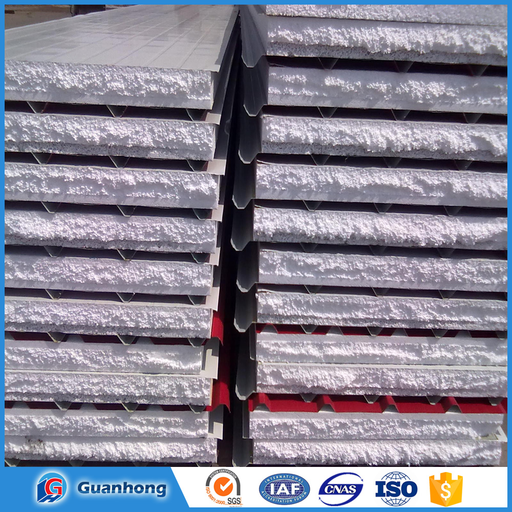 Smooth exterior hidden joint prefabricated aluminum wall panel