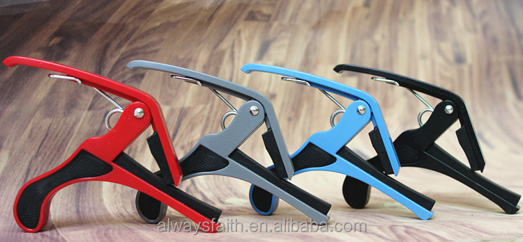 Wholesale high quality cheap price acoustic guitar color capo for sale