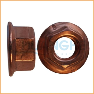 Quality assured hardware m3 m4 m6 m7 hex flange nut
