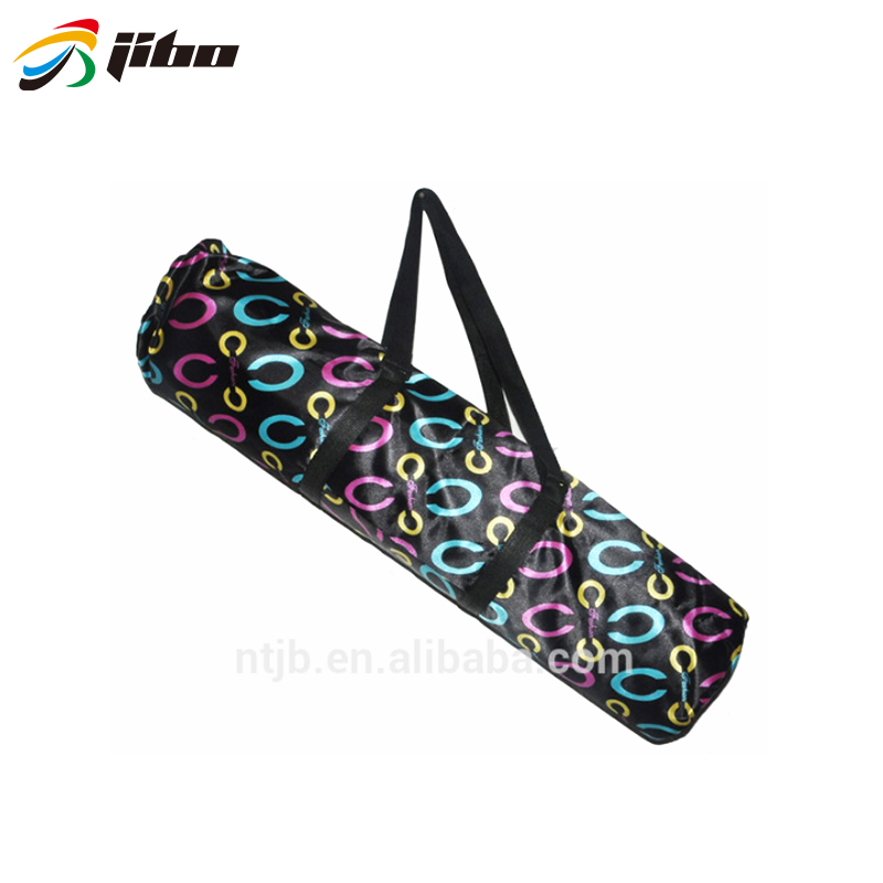 High quality folding oxford fabric waterproof tote yoga bag