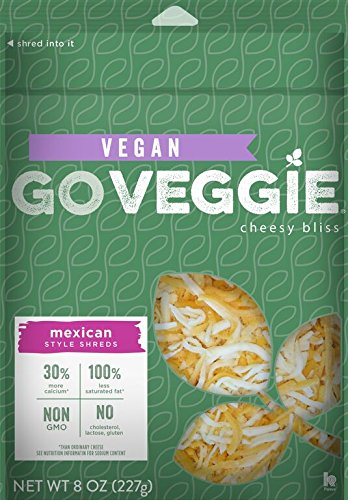 GO Veggie!, Mexican Style Dairy Free Shreds Cheese Alternative, 8 oz