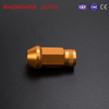 Racing Gold Cone Seat Forged Lug Nuts