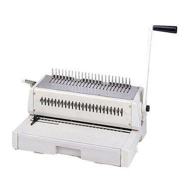 "Tamerica DuraBind 242 14"" Legal Plastic Comb Binding Machine"