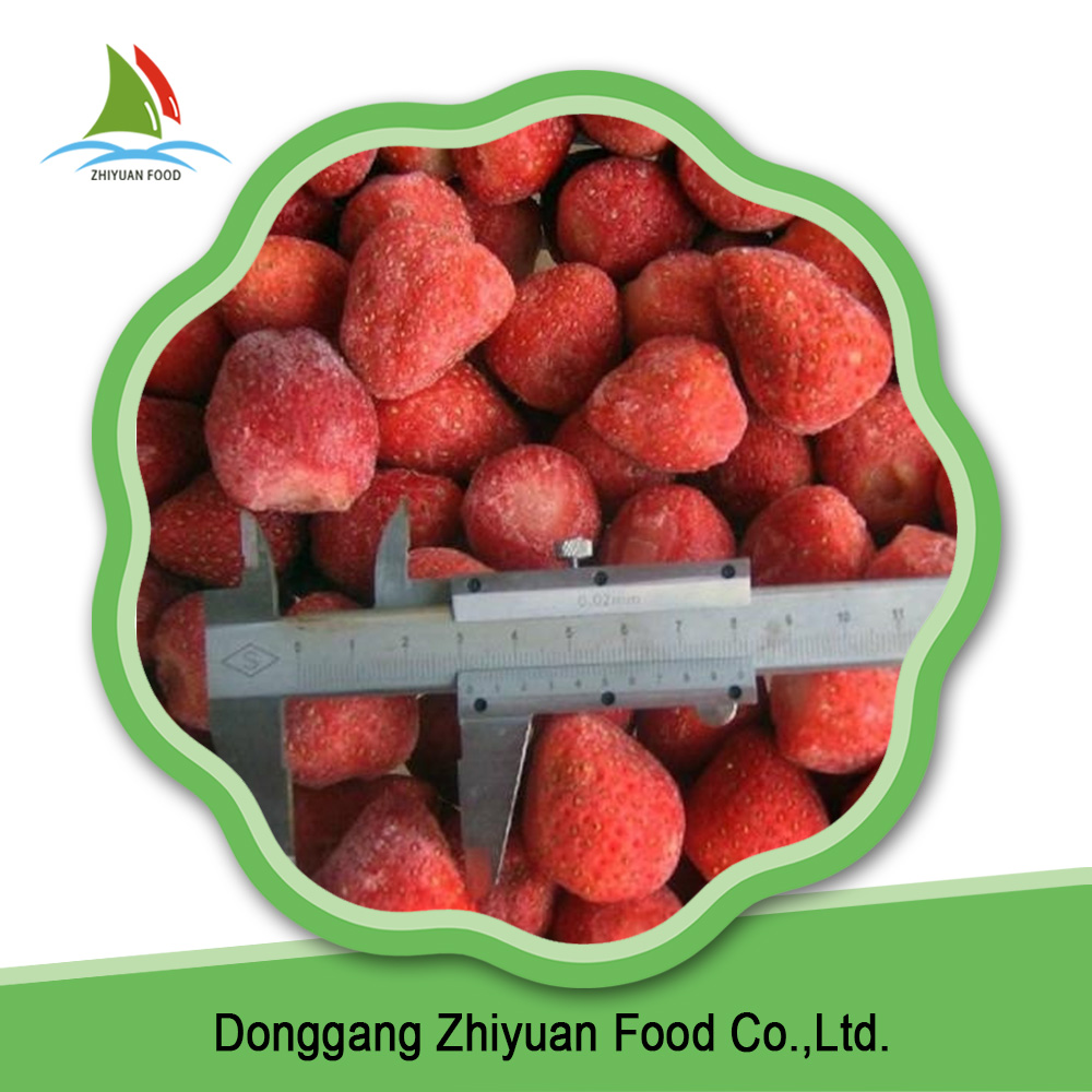 Top rated product reasonable price IQF frozen strawberry